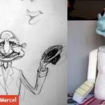 Marionnette mousse Annaïc
