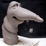 Les Rats T, Marionnette, bosse de latex
