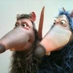 lesratT, marionnettes, mousse de latex
