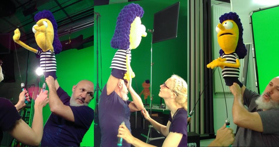 manipulation marionnette
