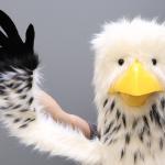 Cyril Valade , Annaïc Penon, marionnette poulet